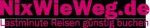 NixWieWeg.de Lastminute Reisen günstig buchen Logo